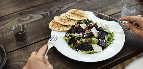 comida sana vida sana hosteleria